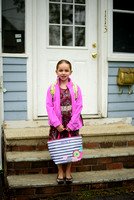 Kaylee's 1'st Day of First Grade at 4 Corners